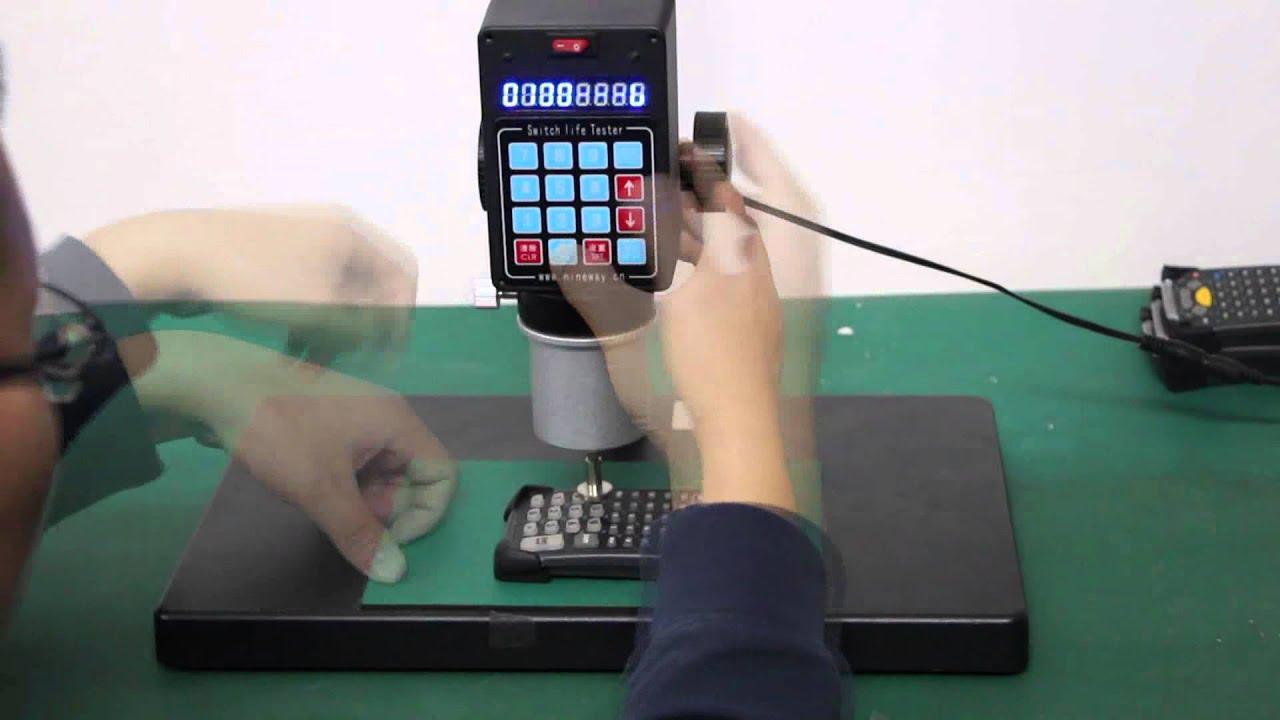 MC9090 53key Keypad Switch Life Tester - ETrade Supply