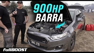 QUICKEST Ford FGX turbo Barra