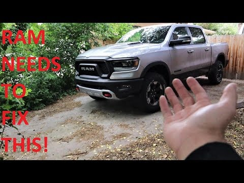 5 THINGS I HATE ABOUT MY 2019 RAM REBEL!!!