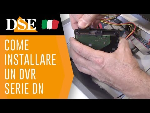 DSE tutorial - Come installare e collegare in rete un DVR