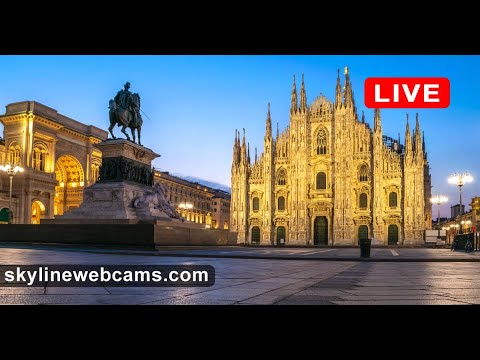 🔴 Live Webcam from Milano - Italy