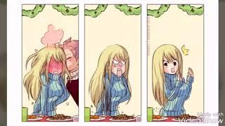 Комикс про Нацу и Люси Fairy Tail