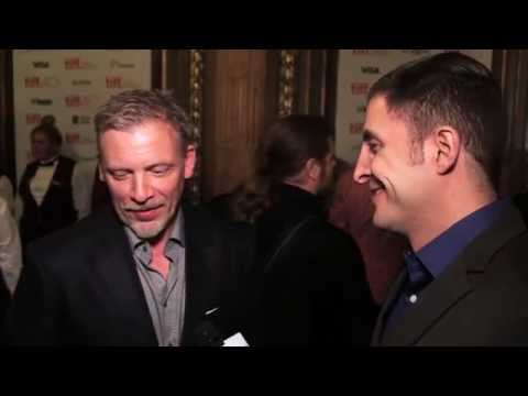 "Callum Keith Rennie at the ""Into the Forest"" TIFF Premiere with Arthur Kade"