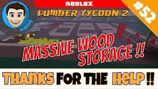 Roblox: Lumber Tycoon 2 : Ep 52: Bau unseres massiven Holzlagers!