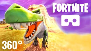 Fortnite 360° Virtual Reality Dinosaurs Google Cardboard VR Box 3D 360