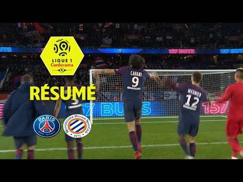 Paris Saint-Germain - Montpellier Hérault SC (4-0)  - Résumé - (PARIS - MHSC) / 2017-18