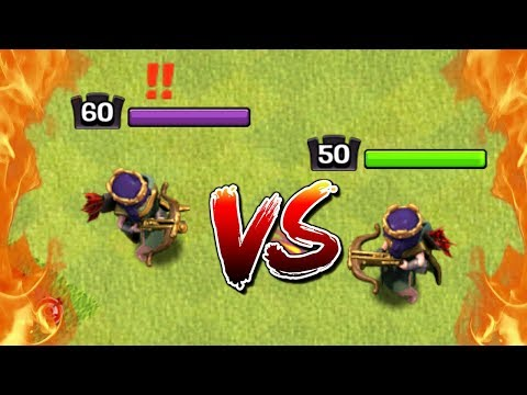 LEVEL 60 Vs LEVEL 50 HEROES! Max King Vs Max PEKKA In Clash Of Clans - Town Hall 12 CoC Update!