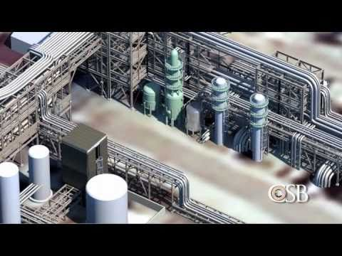 Animation of Bayer CropScience Pesticide Waste Tank Explosion
