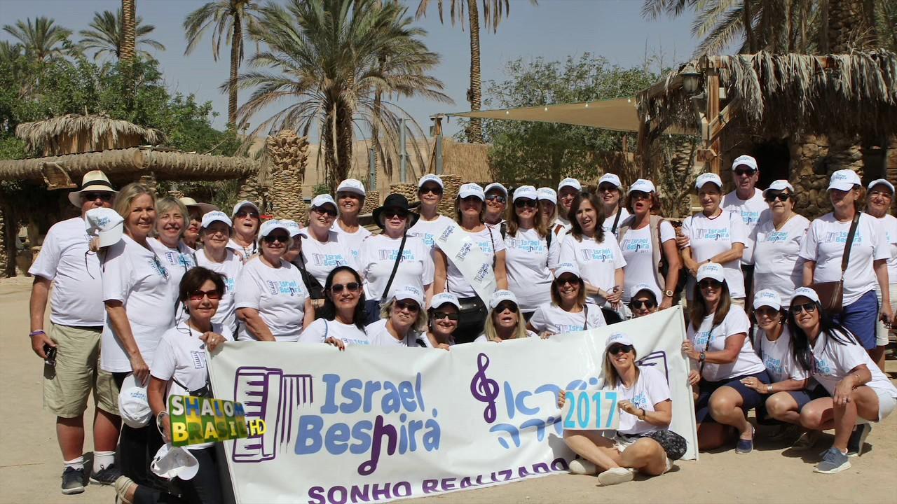 Israel Beshirá, uma viagem emotiva e única para adultos acima de 50 anos