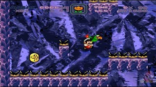 Super Kitiku Mario - Brutal Mario HD 100% World 4: Cave