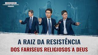 Clipe filme gospel (V) Por que os fariseus se opuseram a Deus?