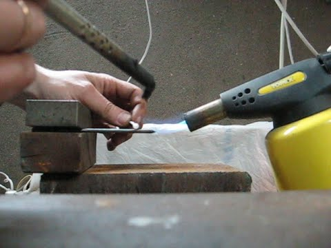 Как запаять сталь