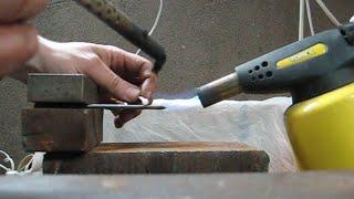 Как припаять сталь и латунь(Из серии, как это делаю я. Способов может быть много и это один из них., 2016-03-13T21:02:08.000Z)