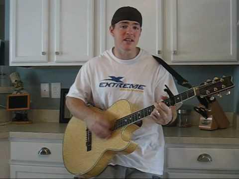 David Archuletas Crush Guitar Instructional Youtube