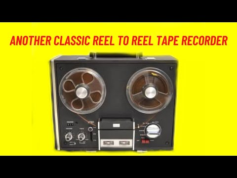 Another Classic Reel To Reel Tape Recorder (From 1968) | Retro Tech Review