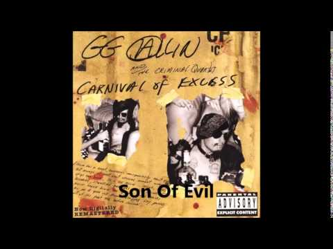 GG Allin - Carnival Of Excess Full Album