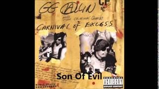 GG Allin - Carnival Of Excess (Full Album)