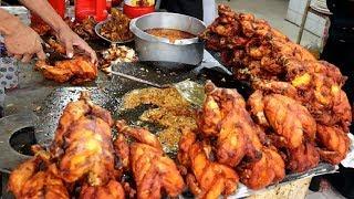 Full Chicken Fry @ Tk 320 Best Street food Unlimited Street Food Corner Delicious Street Food Recipe