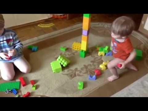 Наши любимые игрушки от 1 года до 5 лет.
