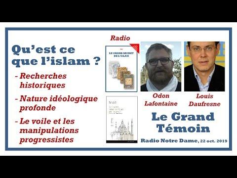 Odon Lafontaine invité de l'émission le Grand Témoin - 22 oct. 2019