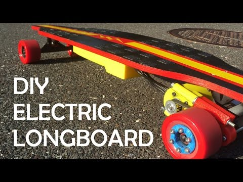 How to: Build an Electric Longboard!