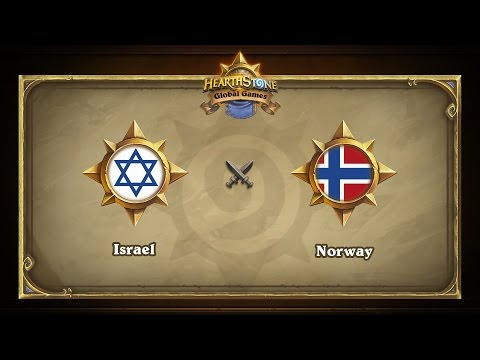 Israel vs Norway | Hearthstone Global Games