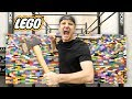 100 Layers Of Lego  Danger Alert  Unbreakable Wall