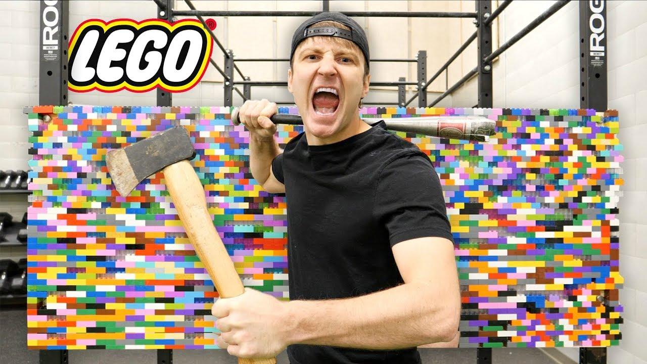 100 LAYERS OF LEGO (DANGER ALERT) UNBREAKABLE WALL