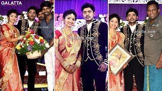 Celebrities wish #Kaala choreographer #Sandy on his wedding