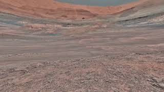 Space Study : Views From Mars (Martian Landscape) HD VR180 : TheTrek & MuseumCompany  180D View