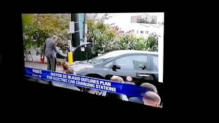 Fox5 News On Mayor Plans for Electronic Car Charging Stations Video.