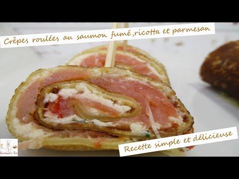 crêpes-roulées-au-saumon-fumé,ricotta-et-parmesan-par-commentfait-ton
