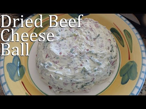 Ketogenic Diet Snacks | Chipped Beef Cheese Ball