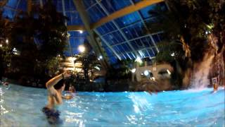 Center Parcs - Elveden - WORLDS FIRST Tropical Cyclone - Rapids - 2013