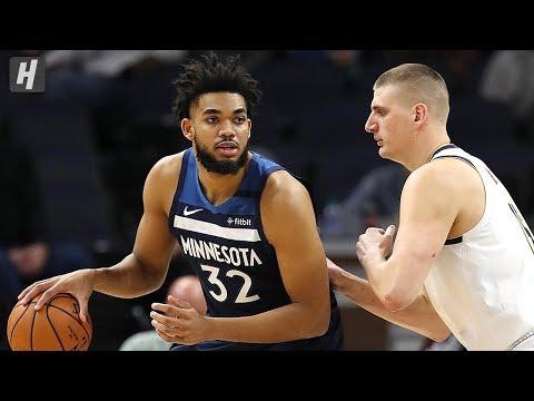 Denver Nuggets Vs Minnesota Timberwolves - Full Highlights | January 20, 2020 | 2019-20 NBA Season