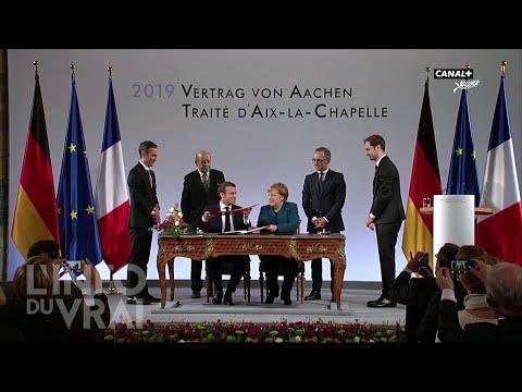 Merkel / Macron - L'Info du Vrai du 16/05 - CANAL+