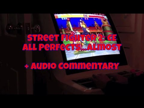 Street Fighter 2 - Championship Edition (Arcade) - Audio Commentary + Tips - All PERFECTS....Almost