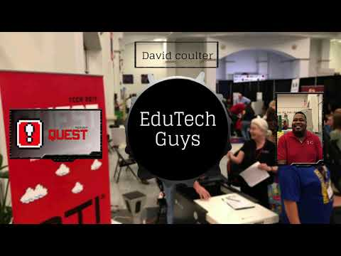 EduTechGuys at TCCA 2017 with David Coulter