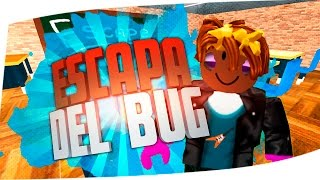 ESCAPING THE BUG ROBLOX OBBY BPancri and WhiteZunder