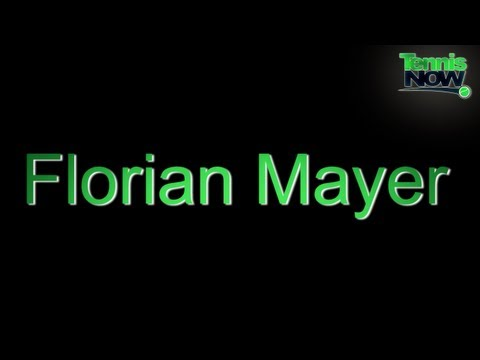 How To Pronounce Florian Mayer