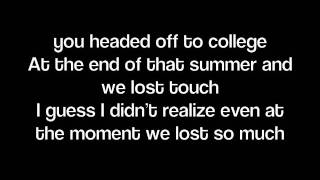 Dancin' Away With My Heart-Lady Antebellum (Lyrics on screen)