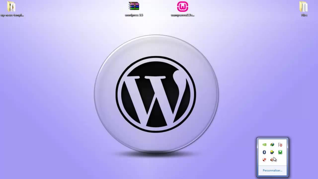 15. دورة تصميم قوالب الووردبريس - تنصيب Wamp Server و مجلة Wordpress