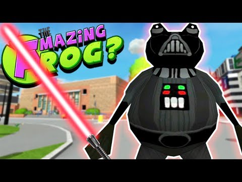 DARTH VADER FROG MEETS FNAF?! & THE SPACE SIMULATOR!! || Amazing Frog Gameplay/Funny Moments Part 29