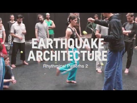 "Fighting Monkey - ""Earthquake Architecture"""