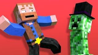 Creeper Disguise [Minecraft Animation] ★ Dumb & Dumber Shorts