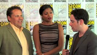 Comic-Con 2012 - Taraji P. Henson & Kevin Chapman Interview