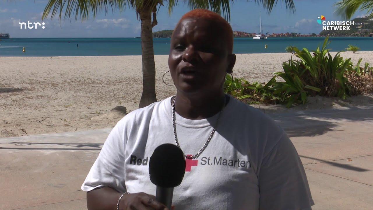 Mensen op Sint-Maarten die door corona dakloos zijn geraakt