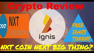 NXT COIN- IGNIS Token New alt for Bitcoin? Crypto Currencies Have Been Down!
