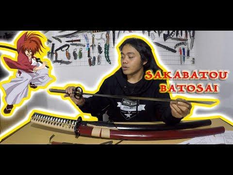 Review Pedang Tajam Terbalik Katana Sakabatou - Samurai X Di Dunia Nyata