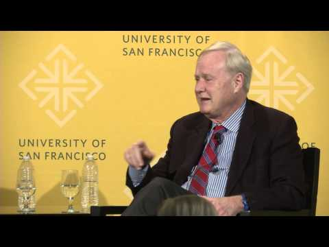 "Chris Matthews of ""Hardball"" at USF [talk]"